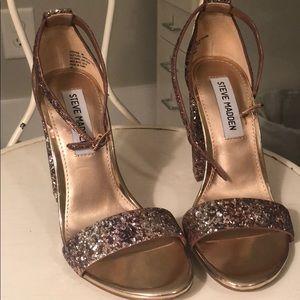 Steve Madden sparkle heels